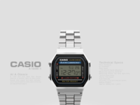 Casio a168w 1 large view
