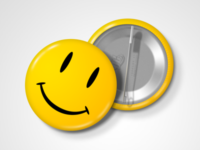 Smiley pin watchmen preview