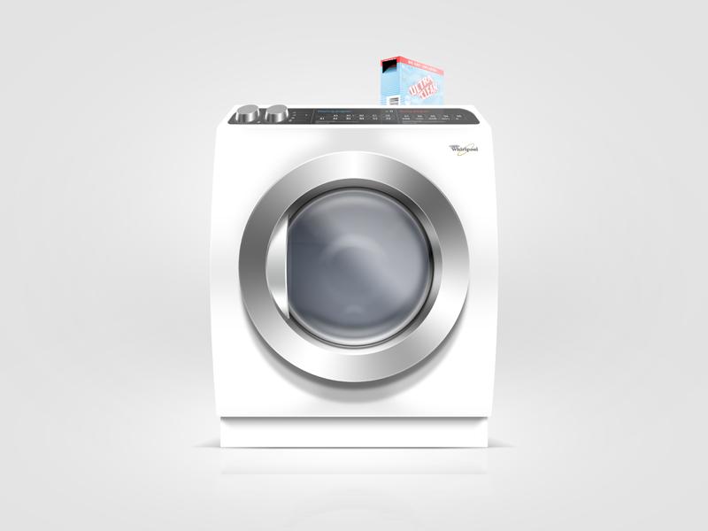 Laundry Day laundry washing machine clean mockup
