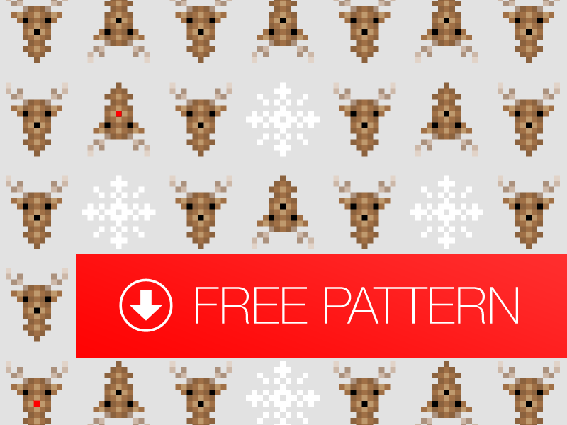 Oh Deer Wallpaper/Pattern free pattern deer christmas