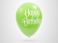 Balloon...
