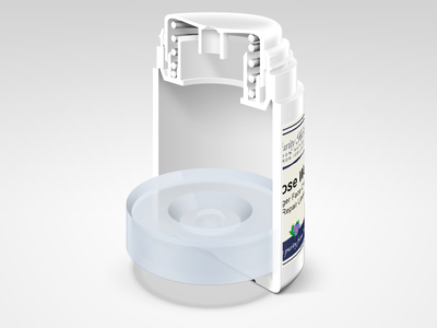 Cosmetic Container MockUp
