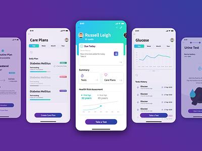One milo profile dashboad stats care medical health app