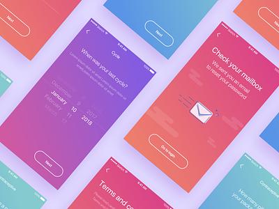 Celbrea cards health fitness ux portfolio card typography development work ux  ui app ui design