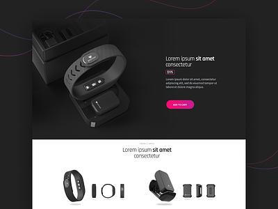 Biostrap fitness health branding ux app ui work development ux  ui design