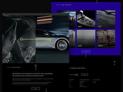 Silberline Website branding ui ux graphic design webdesign interactive