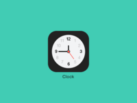 Clock iOS7
