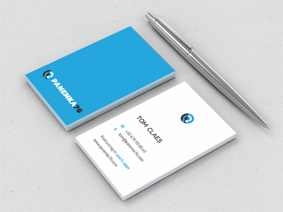 Business card business cards card sport clean flat layout
