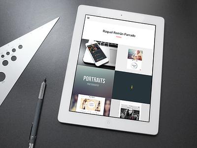 Portfolio layout website design ui ux work portfolio self web design web