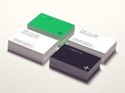 Tax Mentor - Branding logotype stationery graphic design branding tax accountant
