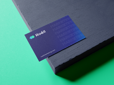 Roell Marketing business cards graphic design marketing business cards branding
