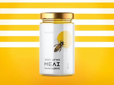 Honey packaging branding bee packaging jar honey
