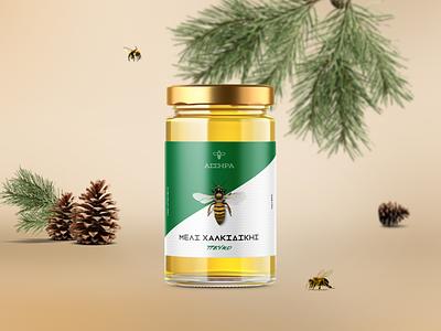 Assera Honey jar food bee honeypackaging honey packagibg