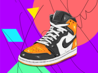 The Sneakers series-Air Jordan 1