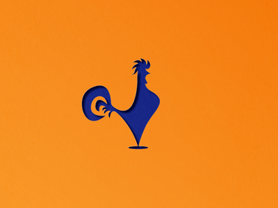 Rooster logo branding logo cockerel rooster
