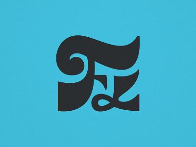 FLorida retro lettering art lettering miami type branding vintage logo
