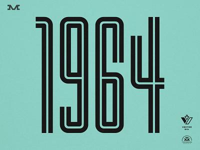 SUPR Tall font numbers football racing type vintage branding
