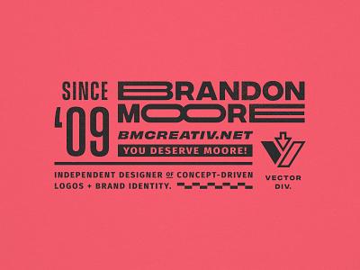 type stuff moore miami racing brand type vintage branding logo