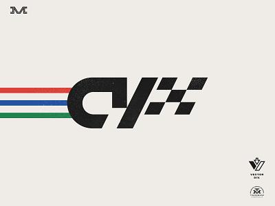 CY Motorsport racing vintage branding logo