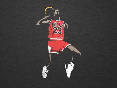 Jordan nba bulls basketball illustration sports