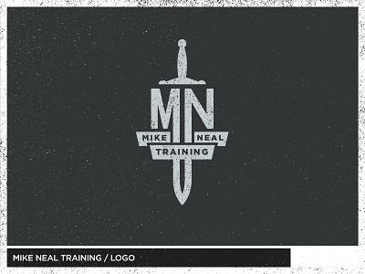Mike Neal Training sports blade gym banner logo sword