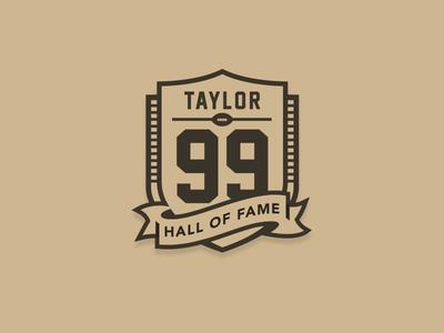 Jason Taylor Hall Of Fame Logo