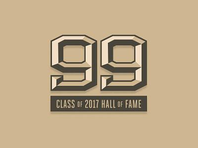 JT Invite Logo fame hall block bevel chrome badge 99 football dolphins nfl