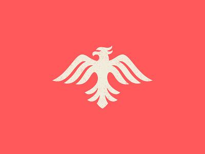 Phoenix_final_final_v3 illustration branding moore coral wings eagle bird mark icon logo phoenix