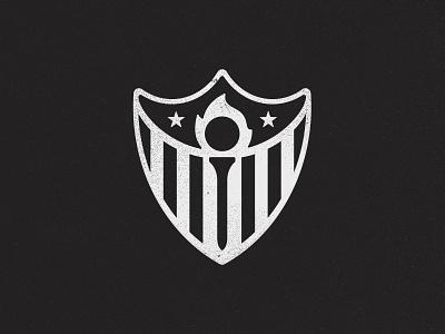 NYC Shield golf torch american honor new york branding brand logo shield