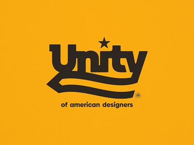 Unity vintage miami pencil american usa type branding brand logo