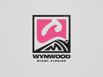 Wynwood w badge street art graffiti miami logo