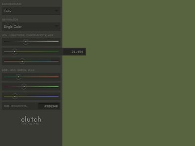 clutch • prototype