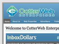 CotterWeb Enterprises Corporate Site
