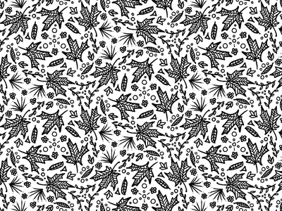 Autumn Pattern patterndesigner patterndesign autumnleaves