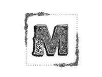 """""""M"""" Dropcap"""
