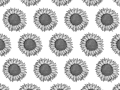 Sunflowers illustration pattern sunflower