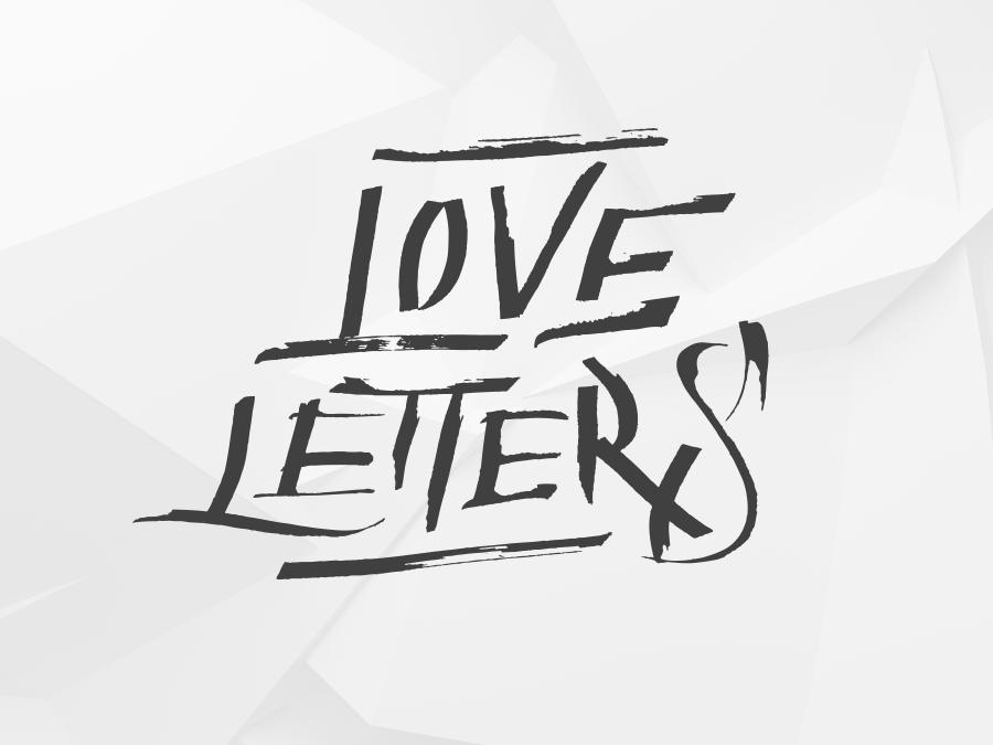 Love Letters free Calligraphz vector typography handlettering brush lettering iamrushdog logo typo calligraffiti calligraphy logotype