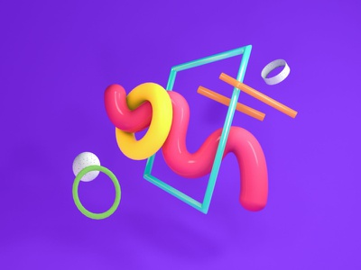 3D Doodles abstract art abstract c4d cinema4dart 3d modeling cinema4d 3d artist illustration 3d illustration 3d art 3d