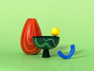 sculpture14 edited c4d vases redshift cinema4dart cinema4d illustration 3d artwork 3d illustration 3d modeling 3d 3d art