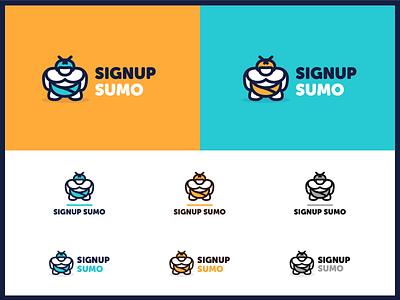 Signup Sumo Branding startup branding signup sumo logo