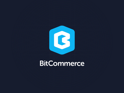 Bit Commerce Logo commerce bit branding logo