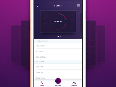 ID Scanning ios purple scan app id