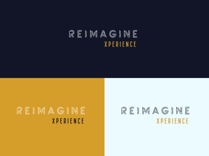 REIMAGINE UX LOGO branding dribbble best shot typography icon illustration vector illustration logotype logodesign interface experience concept logos design app ui ux reimagine