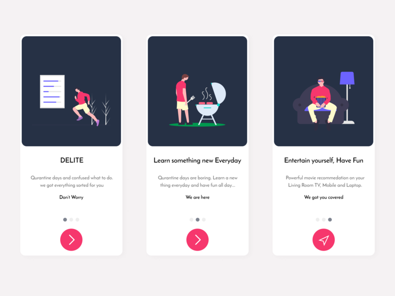 App Onboarding typography minimal web animation branding ui app design ux dribbble best shot