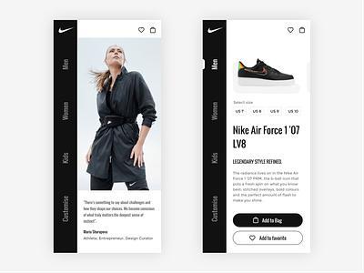 NIke App bestofdribbble recent popular 2021 fashion style branded footwear puma nike shoes weeklywarmup flight booking love tourism booking apps middleeast travelling