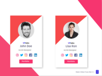Profile Cards