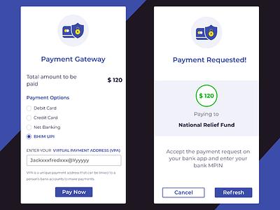 Payment Gateway uprising dribbble invite dribbble player best shot shot payment gateway card payment banking upi