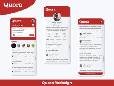 Quora redesign concept