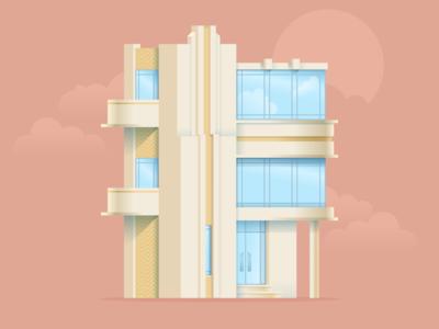 """The Gatsby"" house"