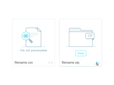 File Placeholder Icons